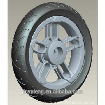 9 inch eva pu foam pneumatci wheel for baby bile