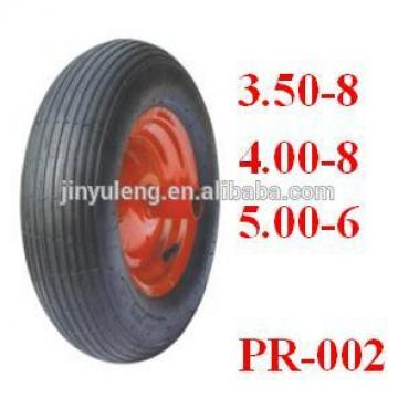 wheel barrow tire 480/400-8 for wheelbarrow