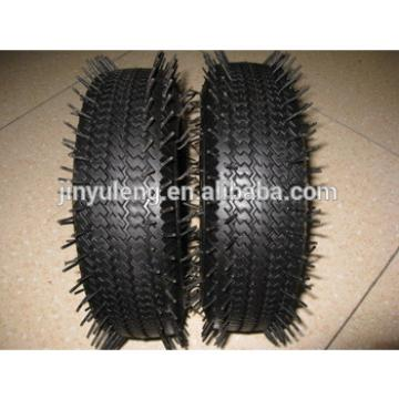 """10"""" pneumatic tire for wheel barrow,hand trolley.tool cart,wagon,lawn mover"""