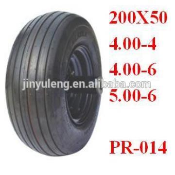 13x400-6 wheelbarrow tyre for wheelbarrow/ inflatable boat