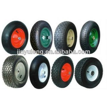 "pneumatic rubber wheelbarrow tyre 10""x3.00-4"