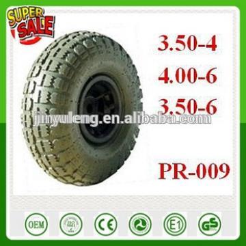 10'' 13'' 16'' 4.10/3.50-4 3.50-6 4.00-8 Pneumatic Rubber wheel for toys wheelbarrow hand truck trolley dump tool cart DIY