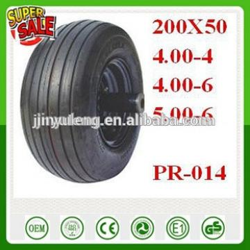 10'',13'' 16'' pneumatic wheels wheelbarrow tire 4.00-4/4.00-6/5.00-6/200X50