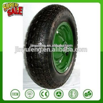 328/350-8 400-8 trolley ,wheelbarrow parts , inflatable rubber wheel , pneumatic wheelcan use for mower