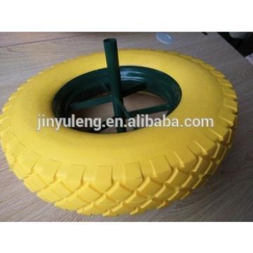 4.00-8 PU foam wheel for JEDDAH , RIYADH,DUBAI ,DAMMAM ,SHARJAH market