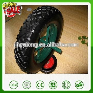 400-8 spoke style pu foam wheel for wheelbarrow Middle East market