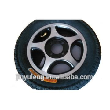 12.5x2.25 alloy rim pneumatci wheel for wheelchair