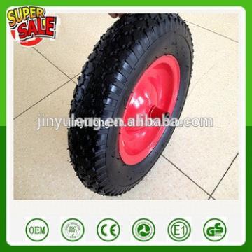 Cheap 4.80/4.00-8 PU foam wheel PU barrow wheel Tire for Trolley ,wheelbarrow