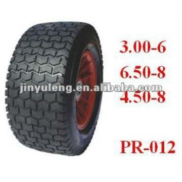 mower wheel Beach car wheel ,Trailer wheel, rubber wheel 3.00-6 6.50-8 4.50-8