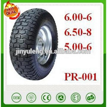 hand trucks, beach trolleys, jockey wheels, light materials handling equipment wheel barrow tyre 6.50-8