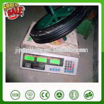 14*4/13*3 inch power solid rubbe wheel for wheelbarrow Middle East market