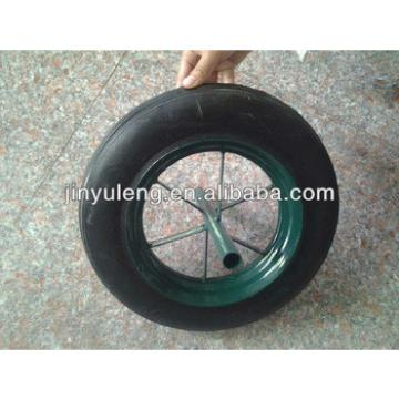 14 inches wheel barow solid rubber wheel for wheelbarrow ,trolley