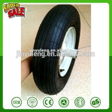 wheelbarrow Tire 350-8/rubber wheel for trolley /Pneumatic wheels for wheel barrow