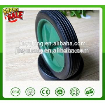 6x1.5 small solid wheel for toys /lawn mower/ carts plastic wheel