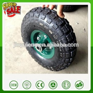 10inch ,3.50-4 , 4.10-4 pneumatic wheels ,rubber wheel use for Hand trolley ,tool cart , wagons,handcarts