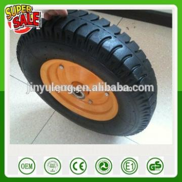 16inch 3.50/4.00-8CHINA QingDao lag pattern Pneumatic Rubber wheel for wheelbarrow trailer tow truck