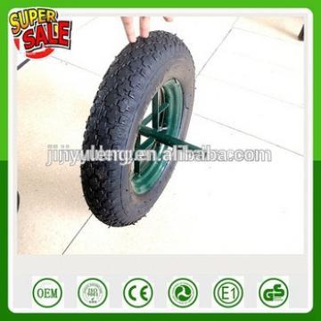 3.50-8 4.00-8 qingdao CHINA spoke syle air wheel pneumatic rubber wheel for wheelbarrow WB6400