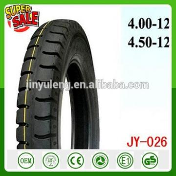 hight quality china cheap 4.50-12/4.00-12 tricycle motorcycle tire 3 4 wheel Motorcycle taxi tire