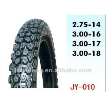 Prevent slippery,cross-country motorcycle tire 2.75-14/3.00-16/3.00-17/3.00-18
