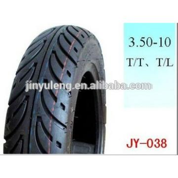 tube and tubless 3.50-10 hight quality street scooters motorcycle tire