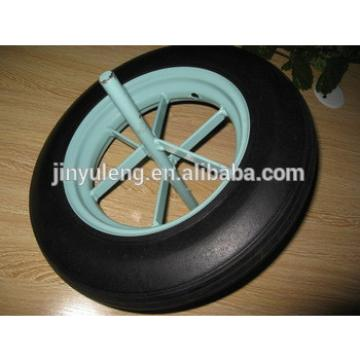 14inch 350-8solid rubber wheels for wheelbarrow made in china