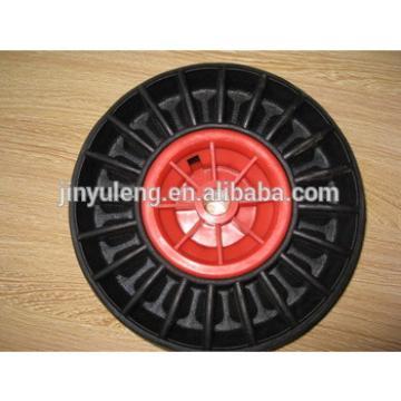 10x300-4 rubber solid wheel for duty barrow/ trolley