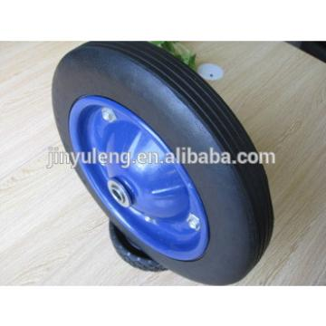 13x3 solid rubber wheels for construction duty wheel barrow