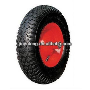 "14""x3.50-8 pneumatic rubber wheel/ tire for wheelbarrow"