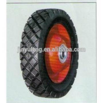 """6"""",7"""",8"""" rubber lawn mower wheel, caster wheel"""