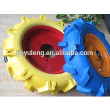 Herringbone pattern 16 inches 4.00-8 pu solid rubber foam wheel ,wheelbarrow ,Farm machinery wheel,parts,accessories