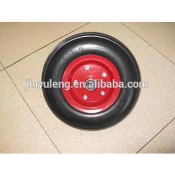 high qulity 300-4,400-6,400-8 PU wheel for wheel barrow,hand trolly