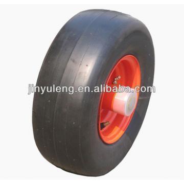 15x6.00-6 lawn mower use semi solid wheel