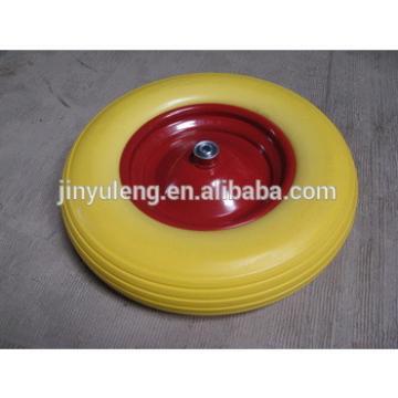 "16""x400-8 PU wheel"