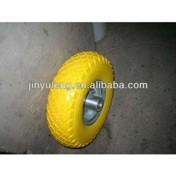 "PU FOAM WHEEL 10""x3.50-4"