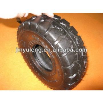 "hot sale 10"" 3.50-4 rubber wheels for trolley"