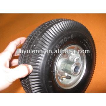 "10"" rubber wheels for trolley"