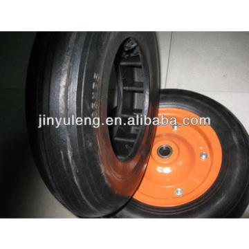13 inch hollow rubber power solid wheel for wheel barrow