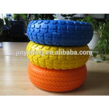 10 inch (10x3.50-4) PU foam wheel for hand truck,hand trolley,lawn mover,weelbarrow,toolcarts