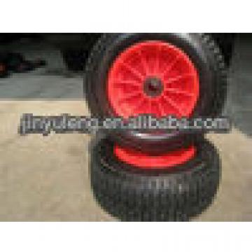 "16""x 6.50-8 rubber wheel/ tyre for lawn mower"