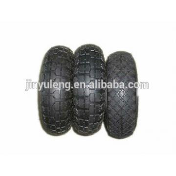 8x 2.50-4 Rubber Wheels for hand trolley