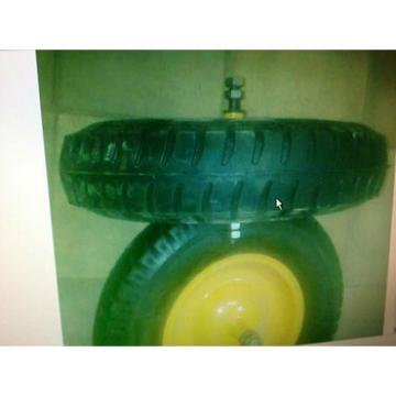 barrow tyre 4.00-8 inflate rubber wheel