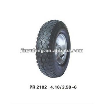 rubber wheel 3.50-6