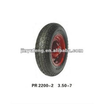 rubber wheel 3.50-7