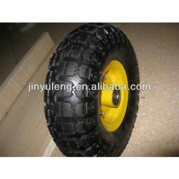 10 inch(10x3.50-4) rubber wheel for hand truck,hand trolley,lawn mover,weelbarrow,toolcarts