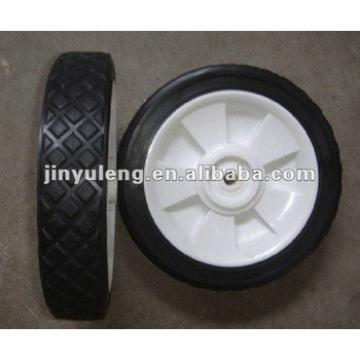 "8""rubber solid wheel for lawn use"
