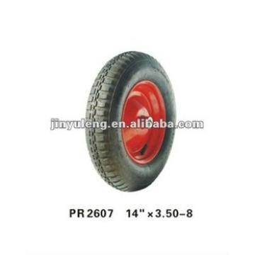 wheel barrow rubber wheel 14x3.50-8