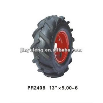 cart wheel rubber tire 13x5.00-6