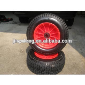 10 inch 3.50-4 rubber wheel