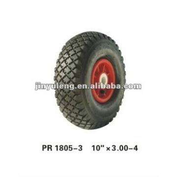 rubber wheel 3.00-4