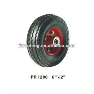 rubber wheel 6x2